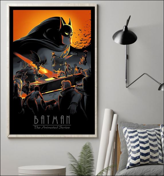 Batman the animated series poster 1