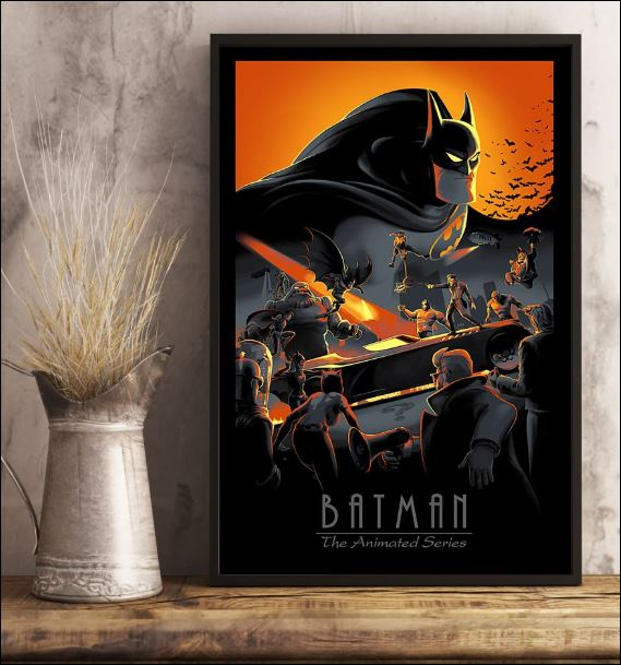 Batman the animated series poster 3