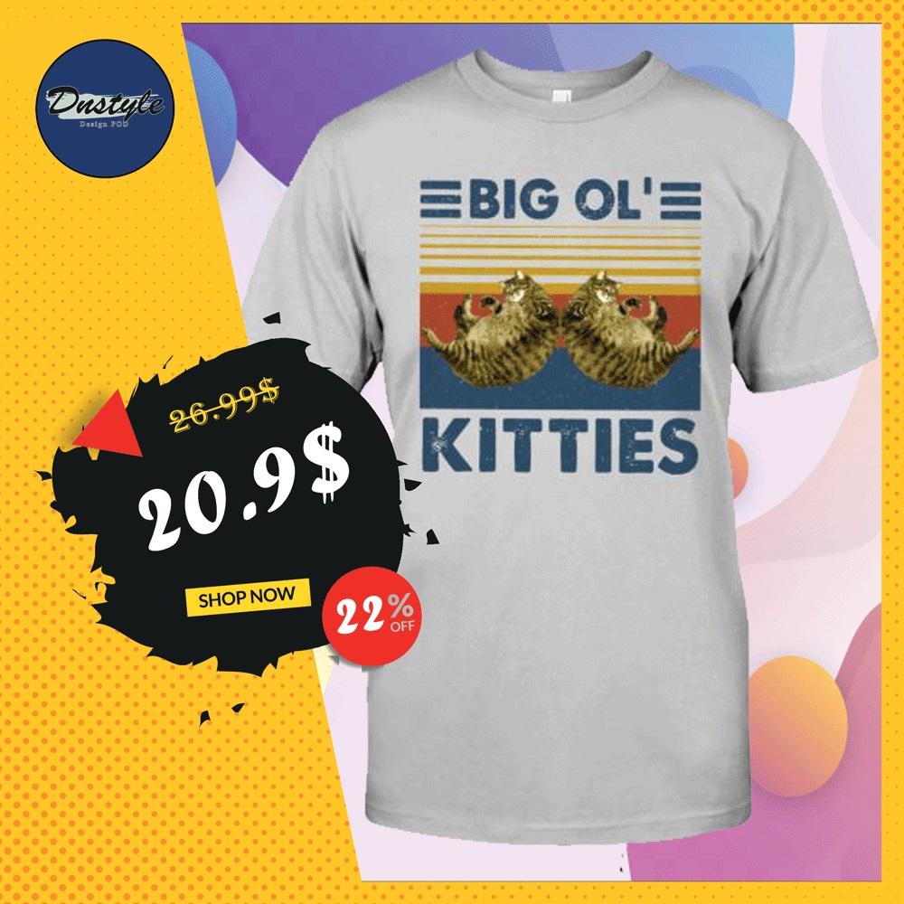 Big ol' kitties vintage shirt