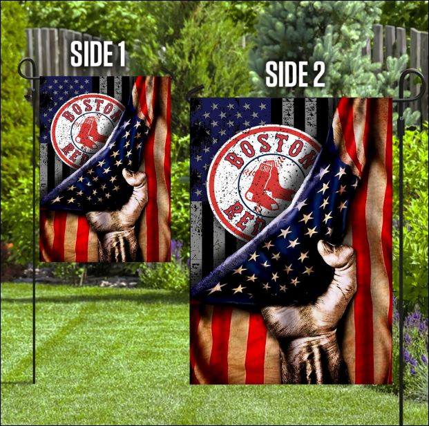 Boston Red Sox American flag