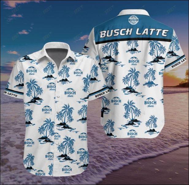 Busch Latte Hawaiian 3D shirt