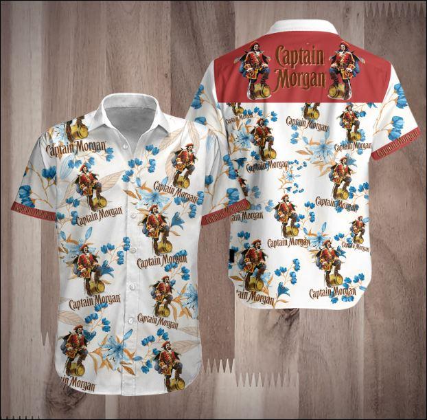 Captain Morgan 3D Hawaiian shirt