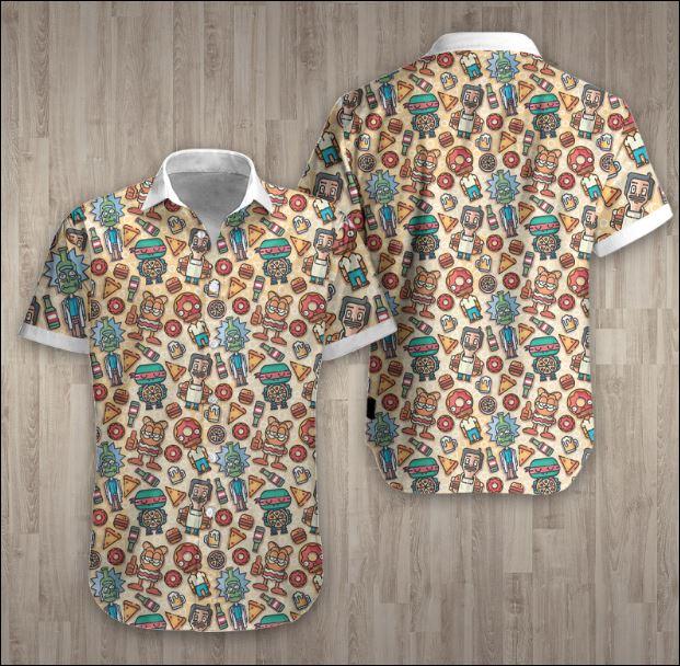 Cartoon Hawaiian 3D shirt