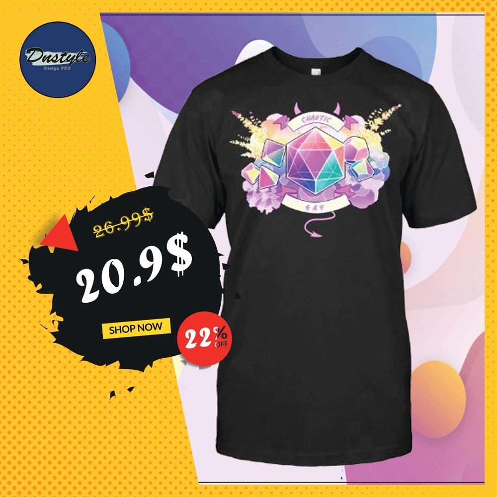 Chaotic gay shirt
