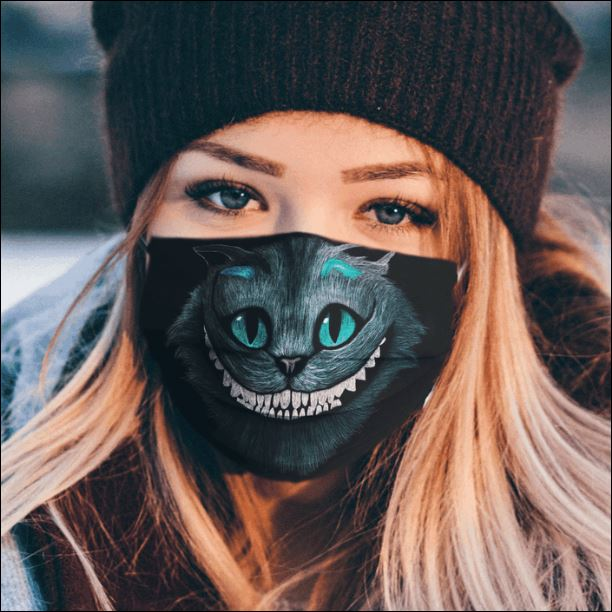Cheshire Cat face mask