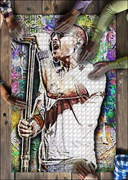 Chester Bennington jigsaw puzzle