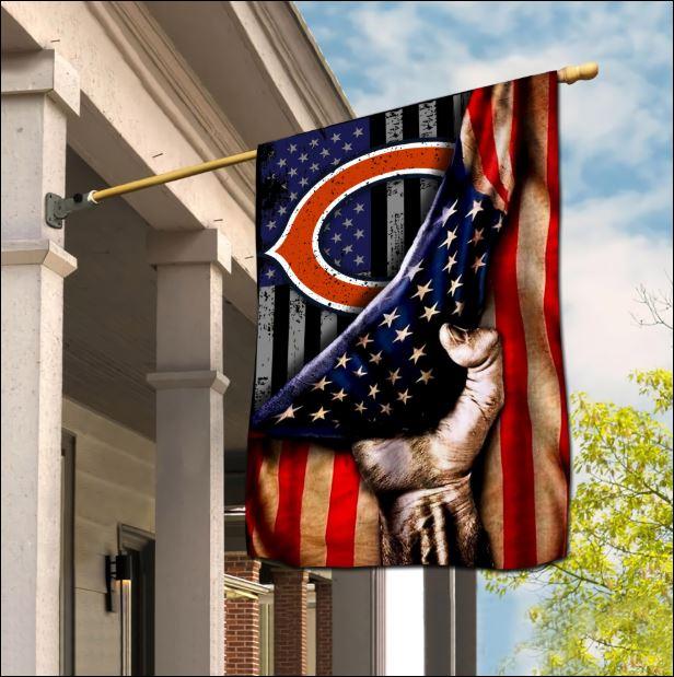 Chicago Bears American flag