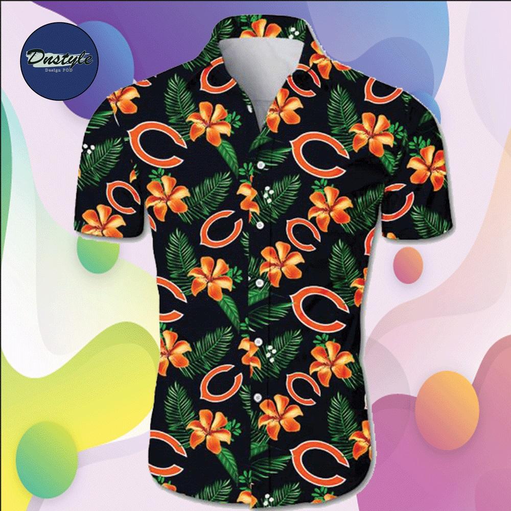 Chicago Bears hawaiian shirt