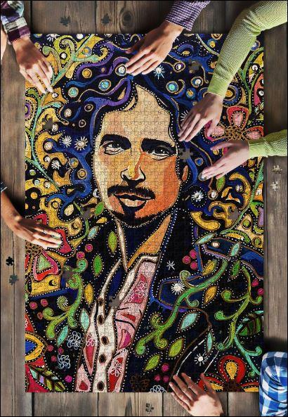 Chris Cornell jigsaw puzzle