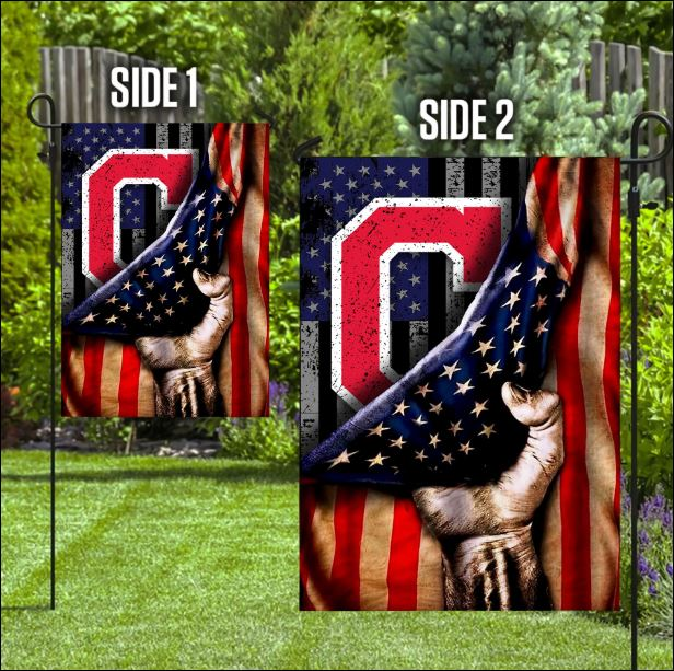 Cleveland Indians American flag