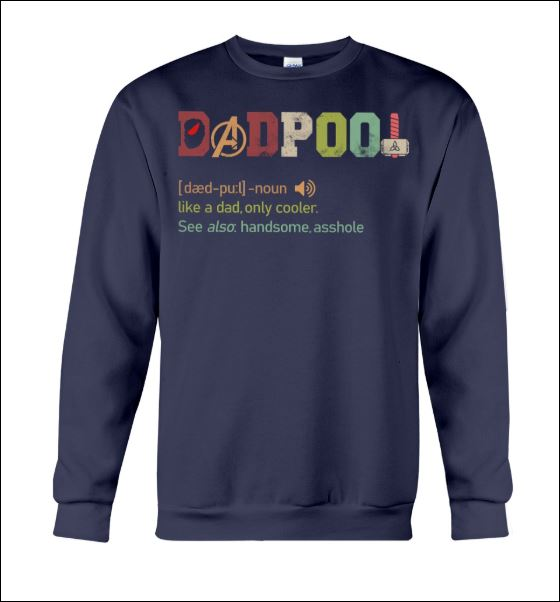 Dadpool definition sweater