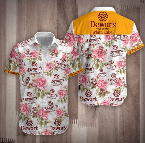 Dewar's Hawaiian shirt