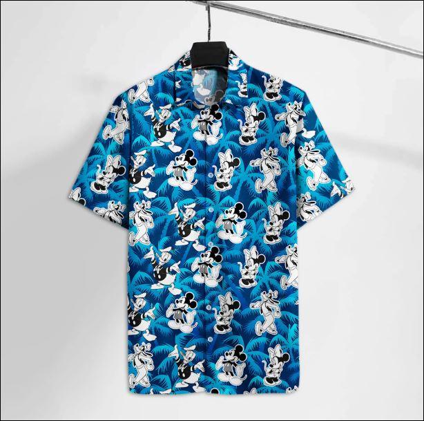 Disney character hawaiian shirt