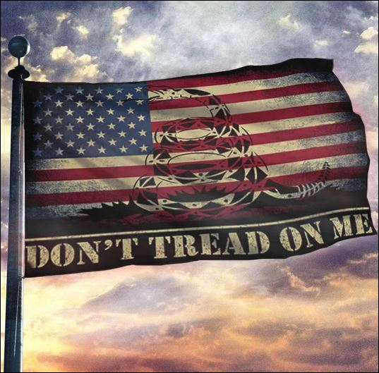 Don't tread on me Ameican flag