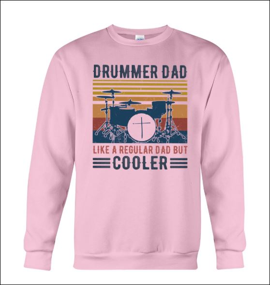 Drummer dad like a regular dad but cooler vintage sweater