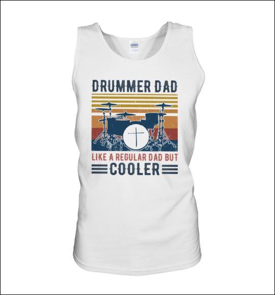 Drummer dad like a regular dad but cooler vintage tank top