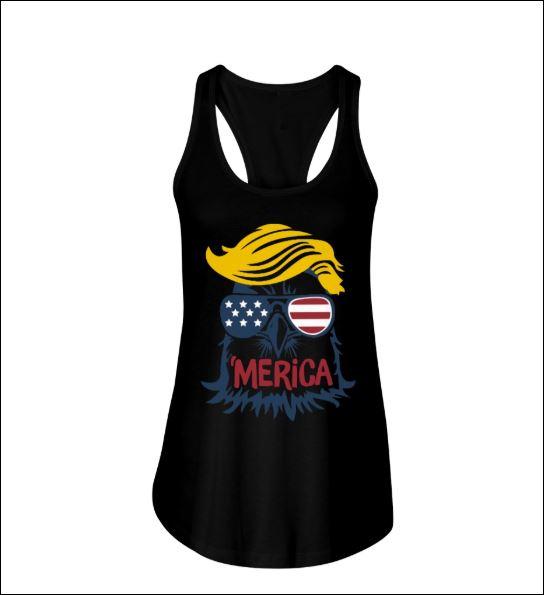 Eagle Donald Trump tank top