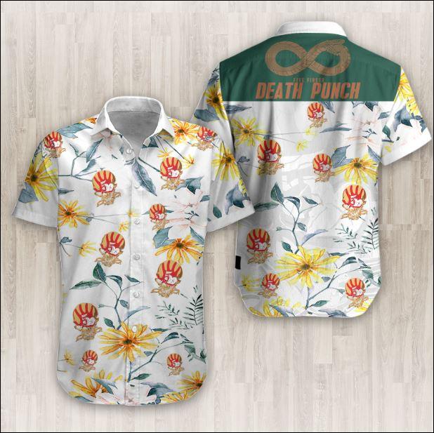 Five Finger Death Punch Hawaiian 3D shirt