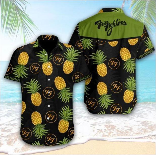 Foo Fighters hawaiian shirt