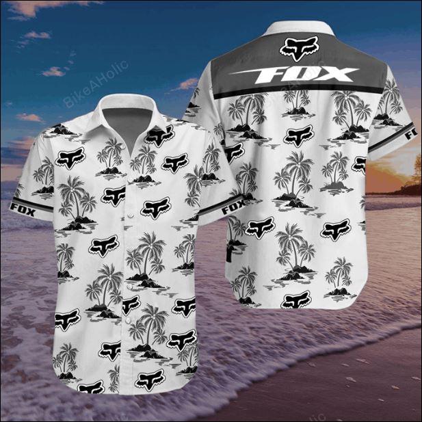Fox Racing hawaiian shirt