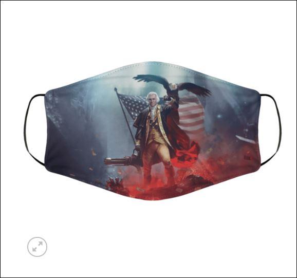[Discount] George Warshington face mask