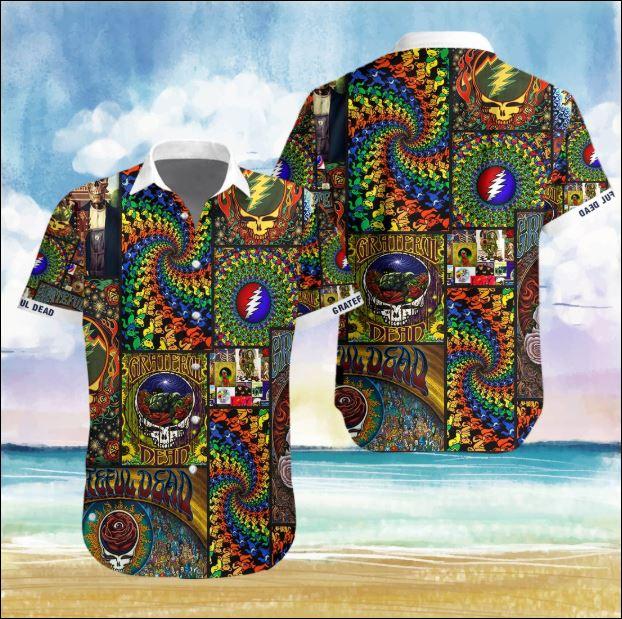 Grateful Dead Hawaiian 3D shirt
