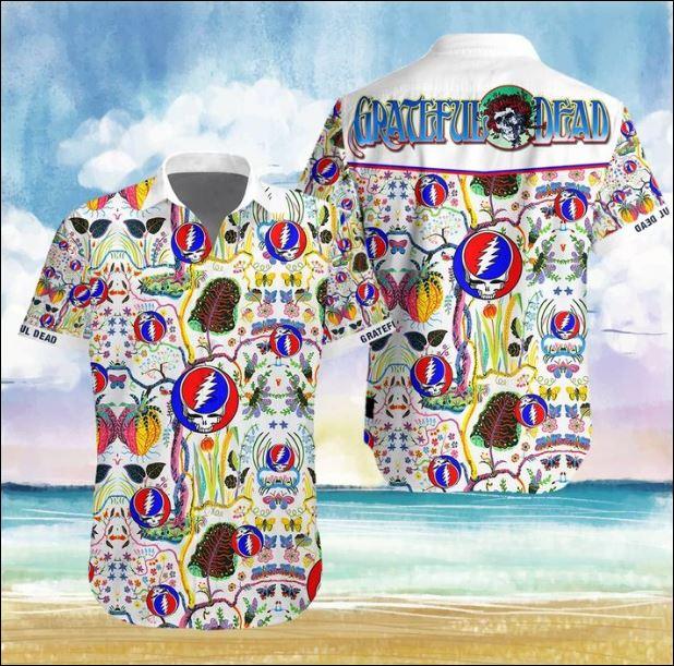 Grateful Dead band Hawaiian 3D shirt