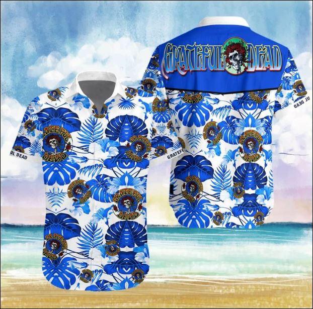 Grateful Dead flower Hawaiian 3D shirt