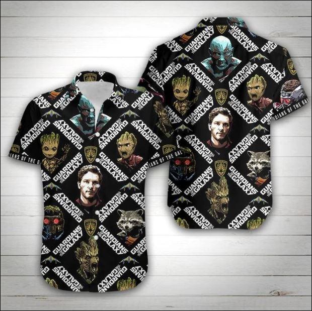 Guardian of Galaxy hawaiian shirt