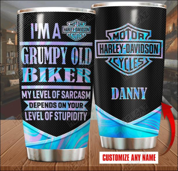 Harley Davidson I'm a grumpy old biker my level of sarcasm depends on your level of stupidity tumblr