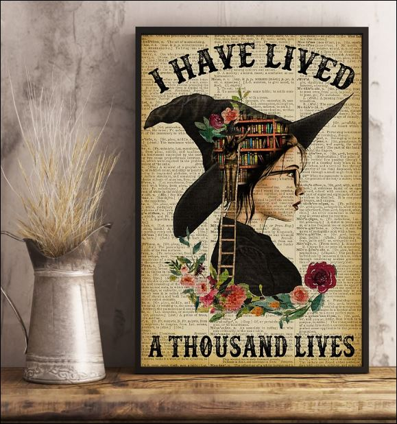 I have lived a thousand lives poster 1