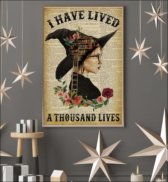 I have lived a thousand lives poster 2