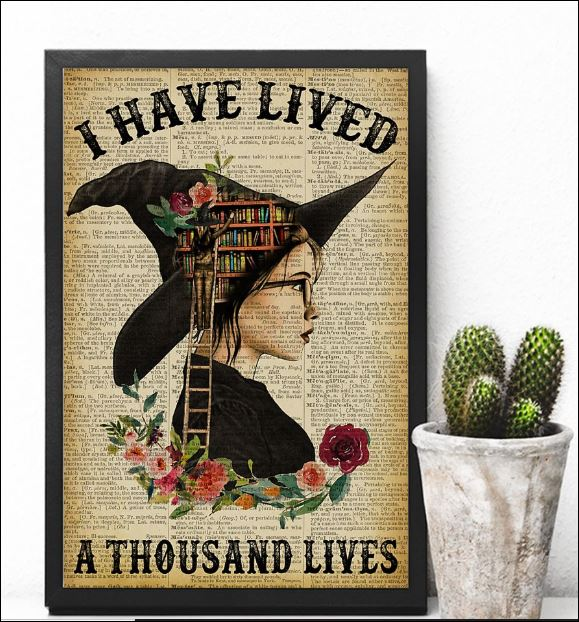 I have lived a thousand lives poster 3