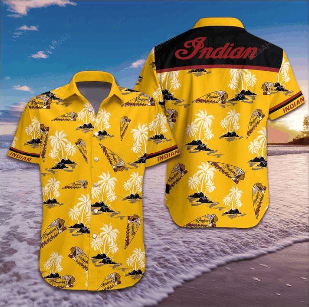 Indian hawaiian shirt