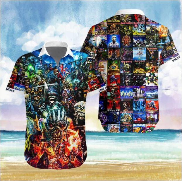 Iron Maiden Hawaiian 3D shirt