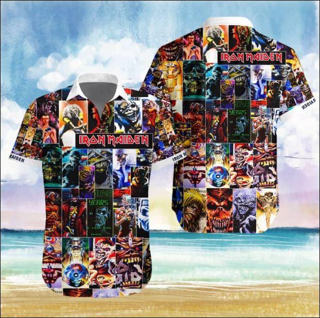 Iron Maiden band Hawaiian 3D shirt