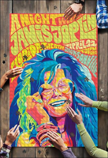 Janis Joplin jigsaw puzzle