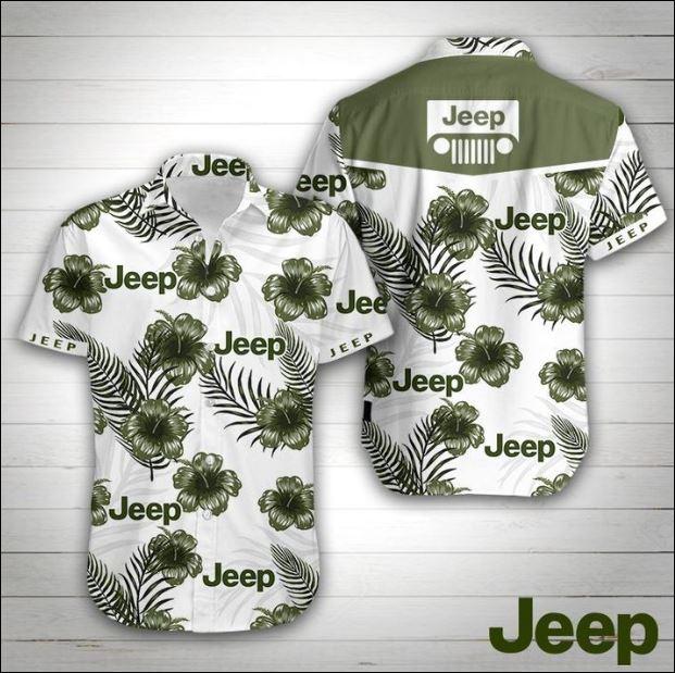 Jeep hawaiian shirt