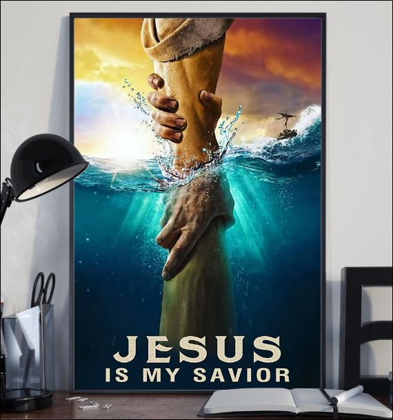 Jesus is my savior poster 1