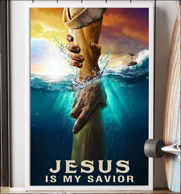 Jesus is my savior poster 3