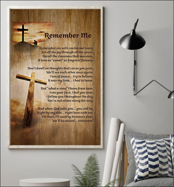 Jesus remember me poster 1