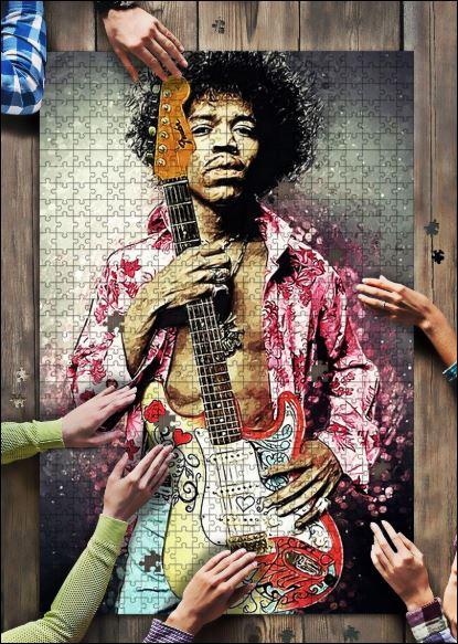Jimi Hendrix jigsaw puzzle