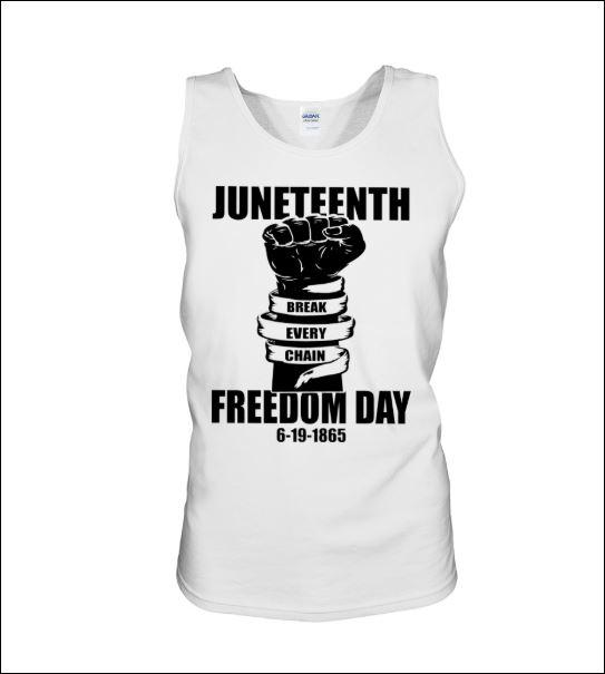 Juneteenth freedom day break every chain hoodie