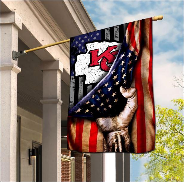 Kansas City Chiefs American flag