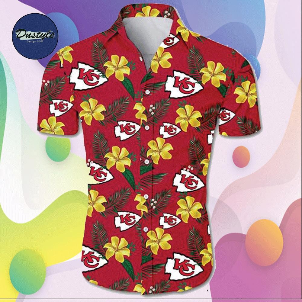 Kansas City Chiefs hawaiian shirt