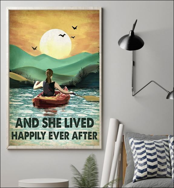Kayak and she lived happily ever after poster 1