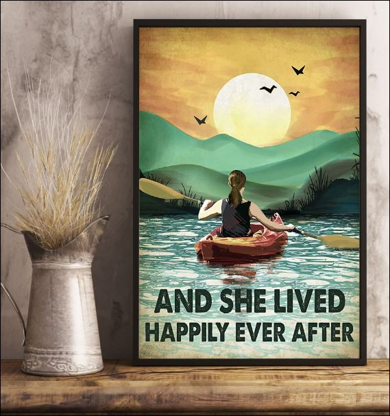 Kayak and she lived happily ever after poster 3