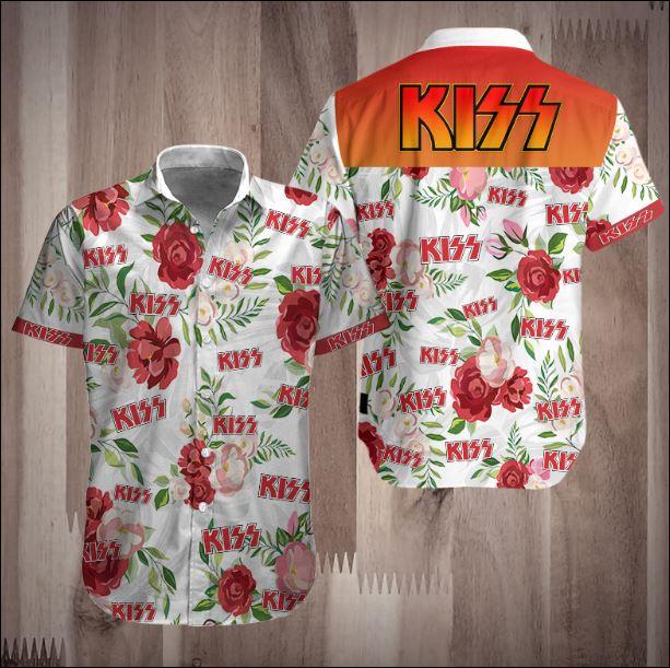 Kiss Hawaiian shirt