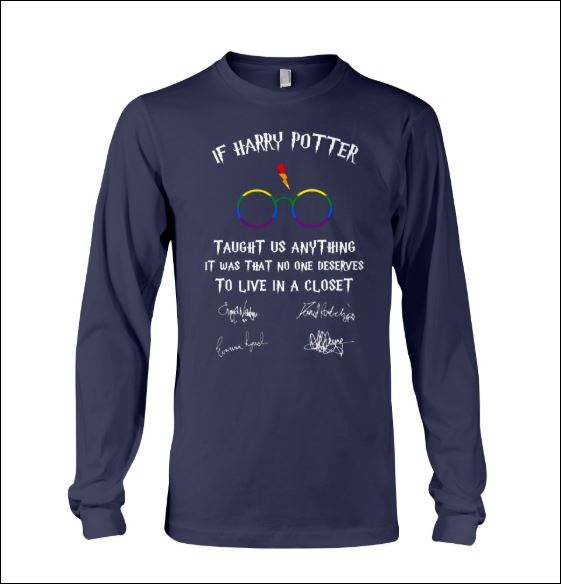 LGBT if Harry Potter taught us anything it was that no one deserves to live in a closet long sleeved