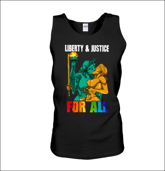 Liberty and justice for all tank top